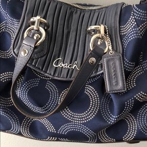 Coach Ashley satchel with shoulder strap